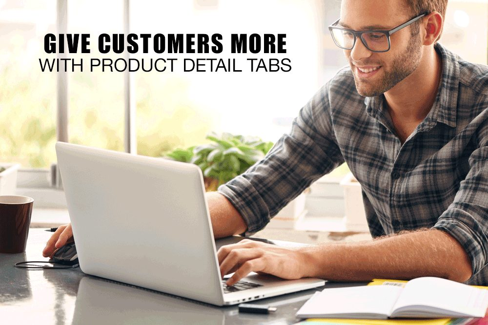 Give Your Customers Product Detail Tabs
