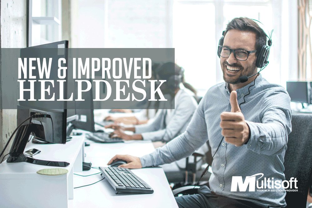 New & Improved Helpdesk